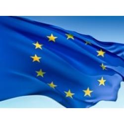 Европейски флаг с Дигитален печат
