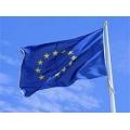 """Европейски флаг със двустранно ушити звезди, Плат """"ПЕК"""""""